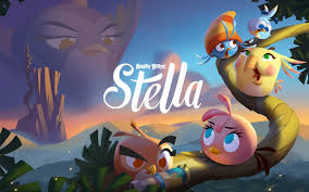Angry Birds Stella-Game High Quality Wallpaper Preview ...
