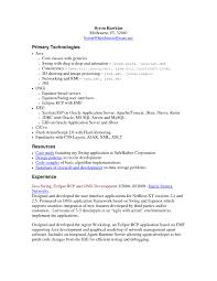 Core Java Developer Resume Sample Resume For Your Job Application
