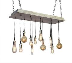 industrial lighting bare bulb light fixtures. Exellent Industrial Urban Chandelier Industrial Lighting Por IndustrialLightworks Intended Bare Bulb Light Fixtures T