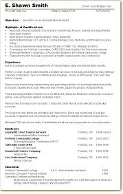 Sample Resume Objectives For Administrative Assistant Tomyumtumweb Com