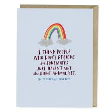 sympathy card pet pet soulmate empathy card emily mcdowell studio