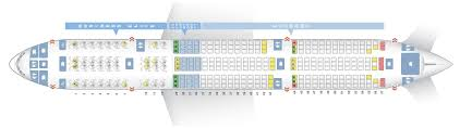 Delta Air Lines Boeing 777 200er Seat Configuration And
