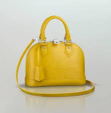 louis vuitton yellow bag. louis vuitton citron epi alma bb bag yellow a