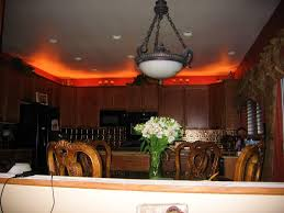 Above Cabinet Decor Kitchen Cabinet Rope Lighting Pikniecom