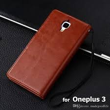 oneplus 3 case high quality crazy horse wallet flip leather case for oneplus 3 one plus 3 oneplus3 pouch cover coque skin cases leather phone case make your