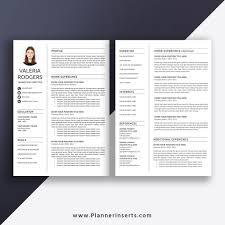 Editable Resume Template 2020 Cv Template Office Word Resume Cover Letter References Creative Modern Resume Professional Resume Instant