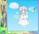 Раскраски аниме игры