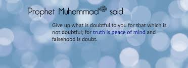 saying of prophet muhammad ~ Islamic Quotes About