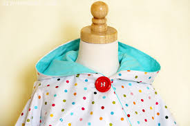 Fleece Poncho Pattern With Hood Gorgeous Circle Poncho DIY The Sewing Rabbit