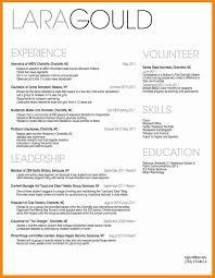Resume Headers 100 headers for resumes resume type 6