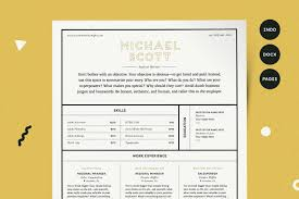 Resume Template Cv Kit Resume Templates Creative Market