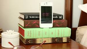 you can always donate old books to an op but if you re looking to scratch your diy itch you could make this bedside smartphone dock instead