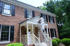 painting exterior trim. picking a new siding color \u0026 updating our exterior trim painting i