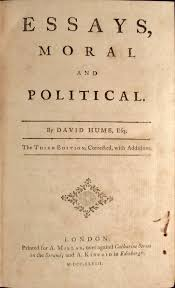 Essays Moral And Political By David Hume On Buddenbrooks Inc