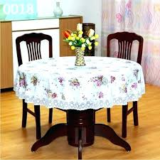 round table cover with elastic round table cover with elastic covers past cloth waterproof fl printed
