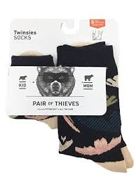 Pair Of Thieves Size Chart Pair Of Thieves Mom Kid 2 Pack Gift Socks
