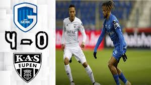 Genk 4 - 0 Eupen: All Goals & Extended Highlights - YouTube