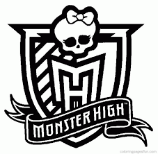Small Picture Monster High Coloring Pages Coloring Home