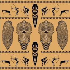 <b>African motifs</b> vectors free vector download (344 Free vector) for ...