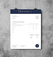 Microsoft Office Invoice Template Stunning Printable Invoice Template MS Word Receipt Template Etsy