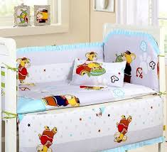 next promotion 6pcs new arrived baby cot bedding kit bed around 100 cotton crib per