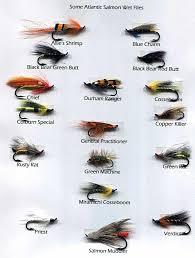 Fly Fishing Flies Chart Salmon Fly Fishing Flies Image Of Fishing