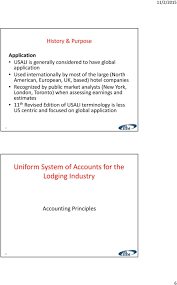 Uniform System Of Accounts For The Lodging Industry Hftp