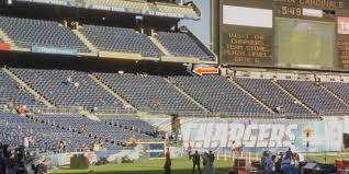 Qualcomm San Diego Seating Chart San Diego State Football Sdccu Stadium Seating Chart
