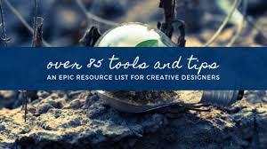 Over 85 resources for the creative designer - Creative Pursuit School