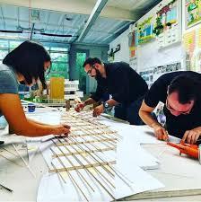 lehrer architects office design. Model Making At Lehrer Architects | Courtesy Office Design