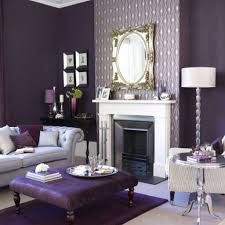 Purple And Grey Living Room Decorating Silver Living Room Ideas A Modern Chandelier And Coffee Table