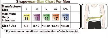 Roc Bodywear Size Chart Formeasy Men S Seamless Shapewear Sleeveless Singlet Corset