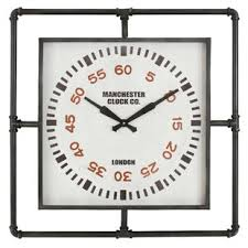 office large size floor clocks wayfair. Melanie Industrial Wall Clock Office Large Size Floor Clocks Wayfair