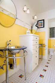 Yellow Bathroom Ideas HGTVs Decorating  Design Blog HGTV - Yellow and white bathroom