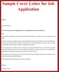 simple cover letter for job application by email  cover letter