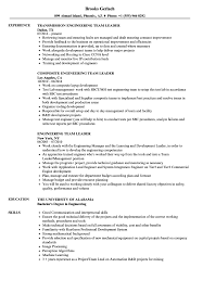 team leader cv examples engineering team leader resume samples velvet jobs