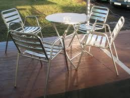 Aluminium Patio Table U2013 Gordons CaterhireAluminium Outdoor Furniture