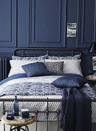 Elegant Rich+dark+blue+luxury+bedroom+design