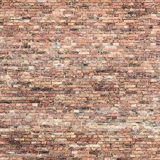 old knitted brick wall with pattern