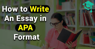 How To Write An Essay In Apa Format Easy Explaination