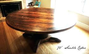 72 inch round table round pedestal table reclaimed wood round table in blog inch round pedestal