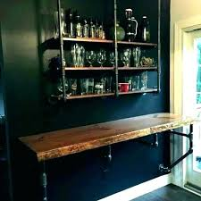 hanging glass bar shelves bar wall shelves hanging stack bar with glass shelveirror interior