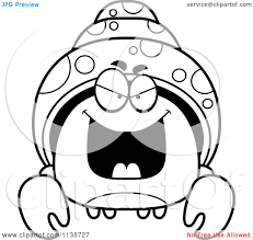 Small Picture Hermit Crab Coloring Pages Coloring Page