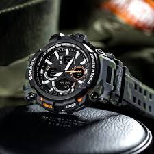 Mens Watches 2018 <b>SMAEL Top Brand</b> Luxury Watch Men G Style ...