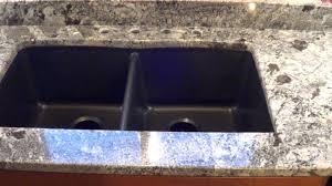 Granite Composite Kitchen Sinks Custom Made In Maine Blue Arraras Granite Countertop Installed W