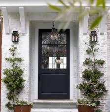 doors front doors with glass exterior fiberglass doors black single door with 6 glass panel