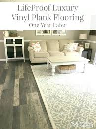 1 year with luxury vinyl plank flooring just call me lifeproof