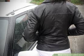 image titled break in a leather jacket step 7