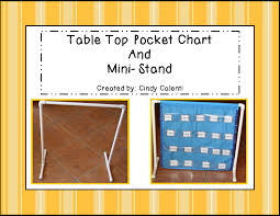 How To Make A Pvc Pocket Chart Stand Granny Goes To School March 2014