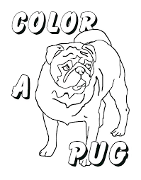 pug coloring page pug puppy coloring pages kids coloring pug coloring pages pug funny face coloring